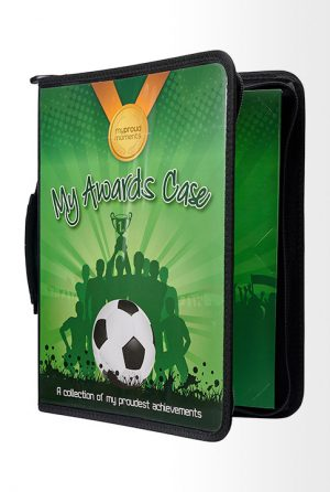 Football Medal Display Case & Certificate Holder